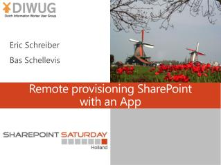 Remote  provisioning  SharePoint  with an App