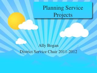 Planning Service Projects