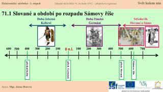 71.1 Slované a období po rozpadu Sámovy říše