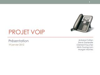 Projet  VoIP