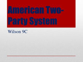 American Two-Party System