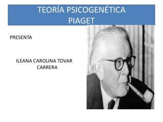 TEORÍA PSICOGENÉTICA PIAGET