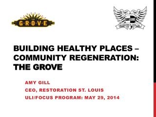 Building Healthy Places –  Community Regeneration: The Grove