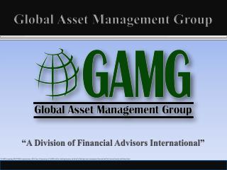 Global Asset Management Group