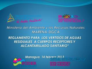 Ministerio del Ambiente y los Recursos Naturales MARENA-DGCA