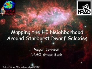 Mapping the HI Neighborhood Around Starburst Dwarf Galaxies
