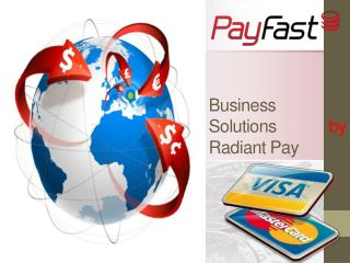 Business Solutions by Radiant Pay
