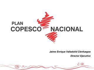 Jaime Enrique Valladolid Cienfuegos Director Ejecutivo