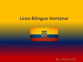Liceo Bilingue Hontanar