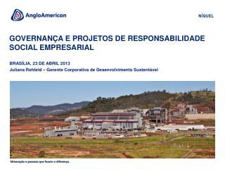 governança e projetos de responsabilidade social empresarial