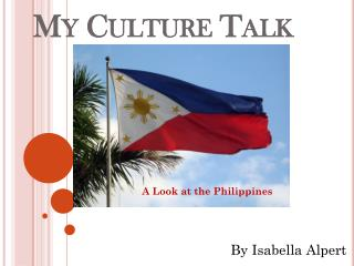 My Culture Talk