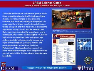 Support:  Primary  NSF MRSEC  DMR-11-20901