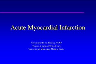 ST elevation myocardial infarction   post MI care and complications