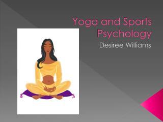 Yoga and Sports Psychology