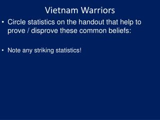 Vietnam Warriors