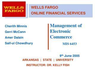 Wells Fargo Online