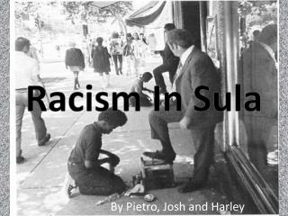 Racism In Sula
