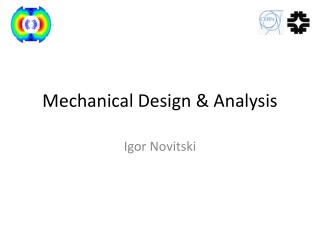 Mechanical Design & Analysis