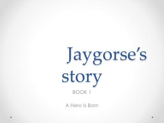 Jaygorse's  story