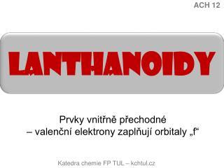 Lanthanoidy