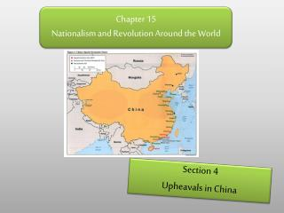 Chapter 15 Nationalism and Revolution Around the World