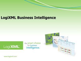 LogiXML  Business Intelligence