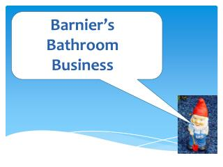Barnier�s  Bathroom  Business
