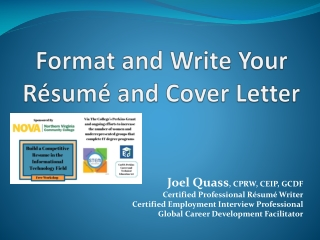 RESUME WORKSHOP