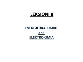 LEKSIONI 8