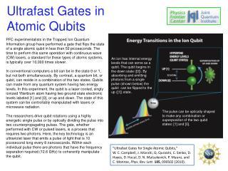 Ultrafast Gates in Atomic  Qubits