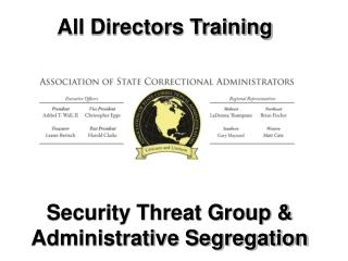 All Directors Training