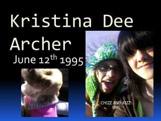 Kristina Dee Archer