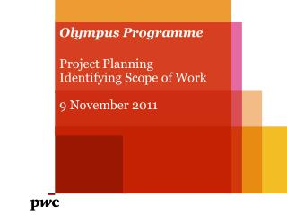 Olympus  Programme