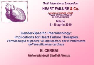 E .  CERBAI Università degli Studi di Firenze