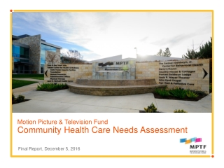 Hospitals and Community Health  Development