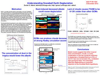Understanding Snowball  Earth  Deglaciation