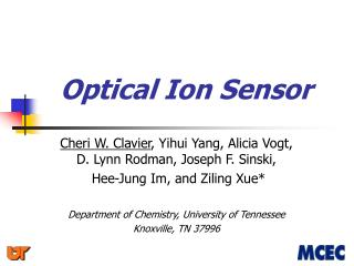 Optical Ion Sensor