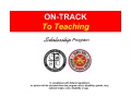 ON-TRACK To Teaching