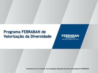 Programa FEBRABAN de Valorização da Diversidade