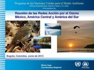 Reunión  de  las Redes Acción por el Ozono México, América Central y América del Sur