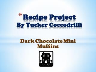 Recipe  Project By Tucker  Coccodrilli