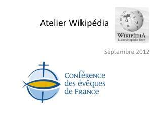 Atelier Wikipédia