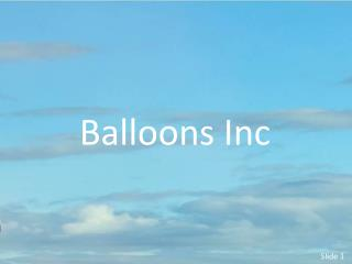 Balloons Inc