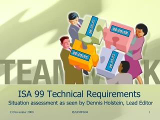 ISA 99 Technical Requirements