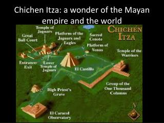 Chichen  Itza:  a  wonder of the Mayan empire and the world