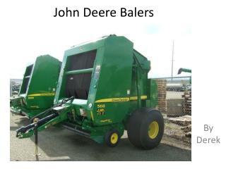 John Deere Balers