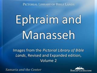 Ephraim and Manasseh