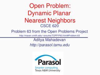 Open Problem: Dynamic Planar  Nearest Neighbors