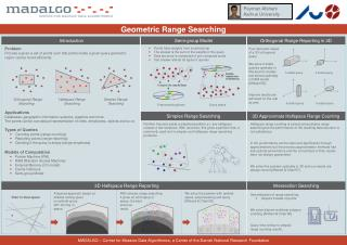 Geometric Range Searching