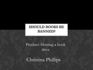 Should books be banned?